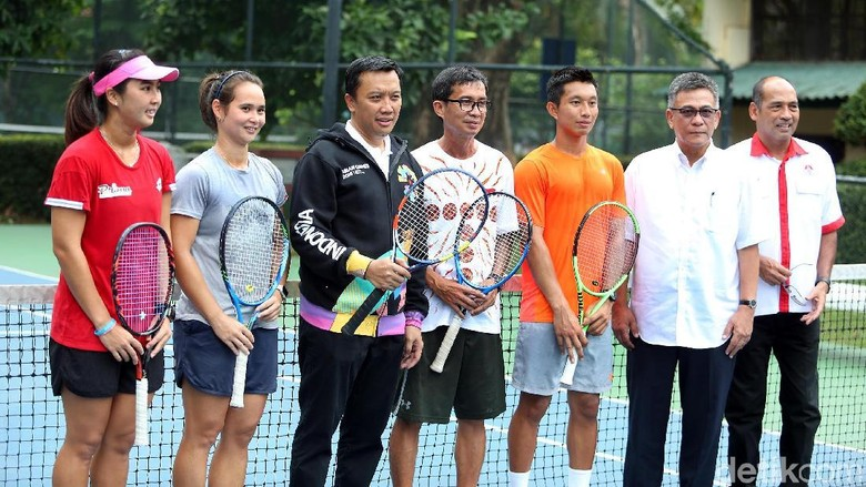 Ini Curhatan Atlet Tenis ke Menpora
