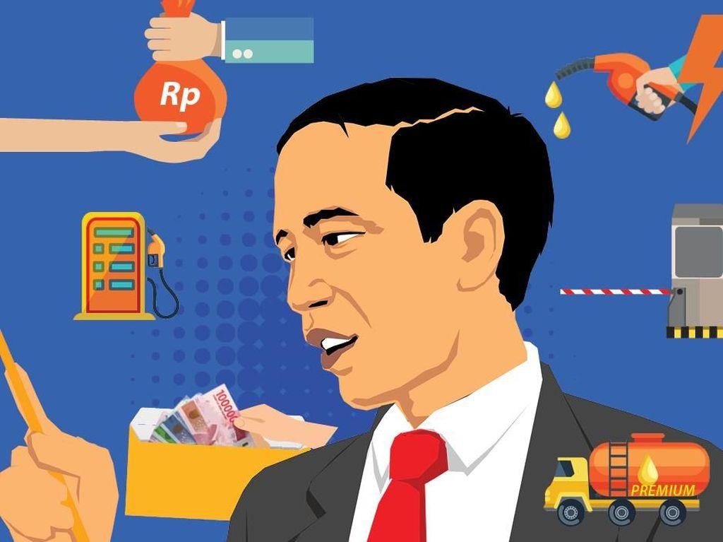 6 Kebijakan Populis Jokowi