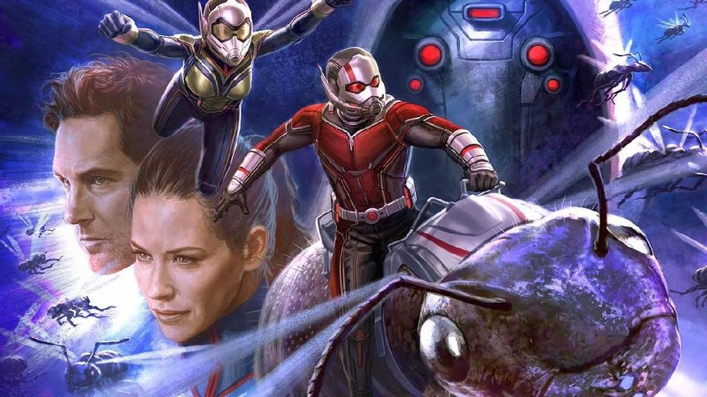Ini Bocoran Sampul Artbook dari 'Ant-Man and the Wasp'