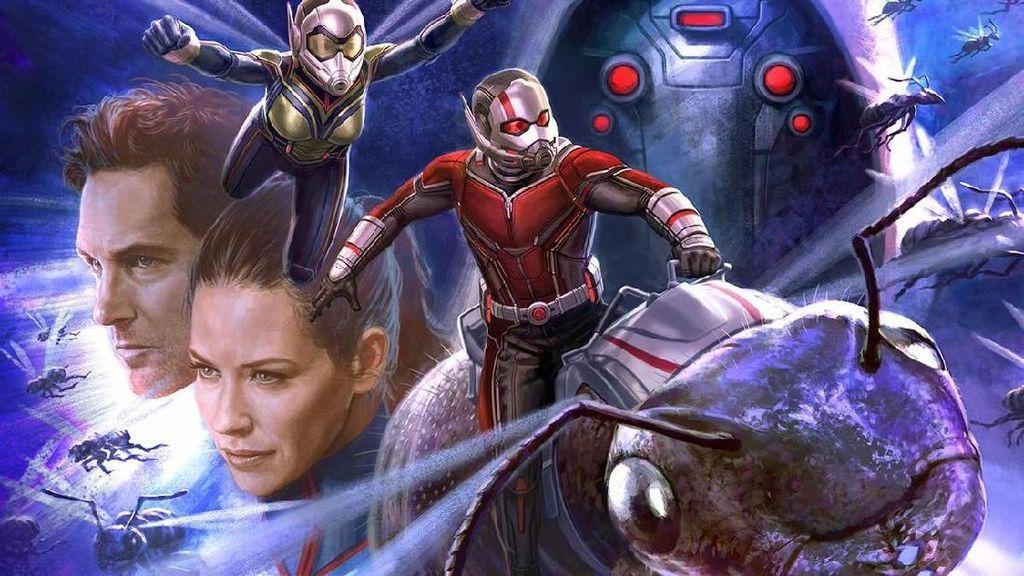 Ini Bocoran Sampul Artbook dari Ant-Man and the Wasp