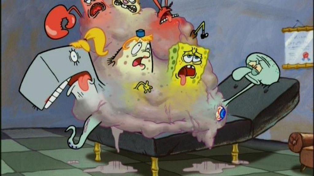Biasanya Lucu, Tapi 9 Episode Spongebob ini Bikin Mimpi Buruk