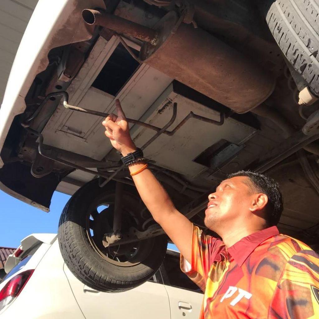Modus Baru, 29 Kg Sabu Diselundupkan di Sasis Mobil