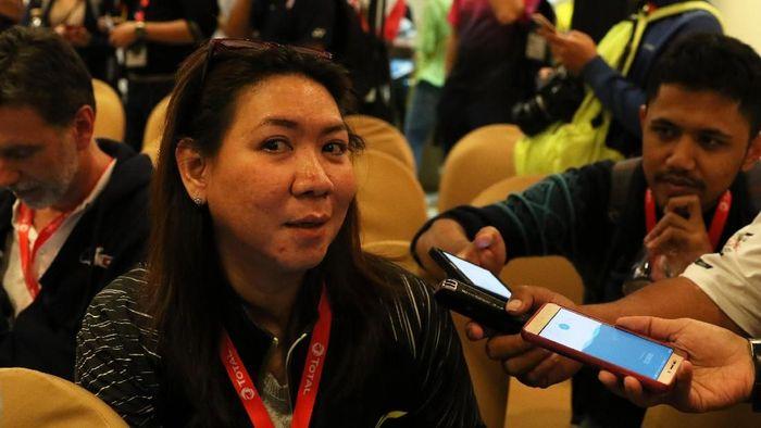 Kepala Bidang Pembinaan Prestasi PBSI, Susy Susanti. (Foto: Tim Humas Dan Media PP PBSI)