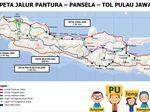Simpan Nih! Ini Peta Jalur Mudik 2018 di Jawa