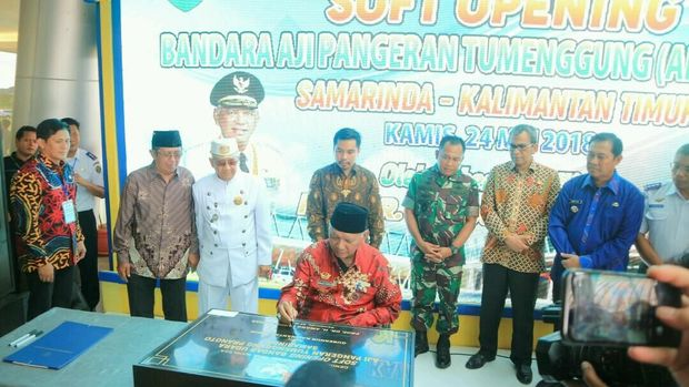 Tingkatkan Pariwisata, Bandara APT Pranoto Samarinda Resmi Beroperasi