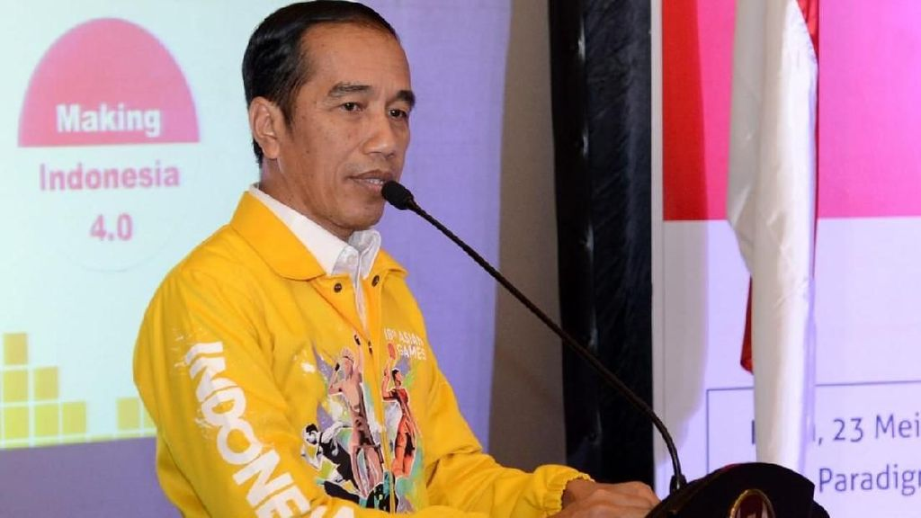 Saat Jokowi Ditanya soal Buta Warna Jadi Syarat Masuk Jurusan Kuliah