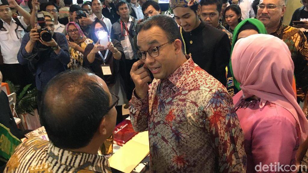 Harapan Anies untuk Dirut Baru Dharma Jaya Johan Romadhon