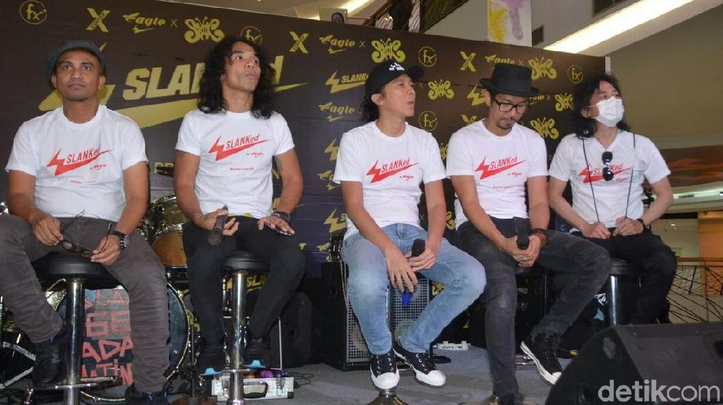 Izin Konser di Yogya, Slank Sowan ke Sultan HB X