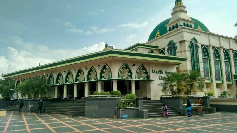 Masjid Agung Ciamis sempat dibakar oleh geromban DI/TII (Dadang Hermansyah/detikTravel)