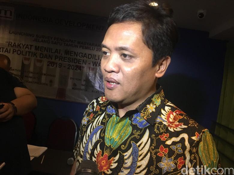 Jokowi-Prabowo Pelukan, Gerindra: Olahraga Satukan Perbedaan Politik
