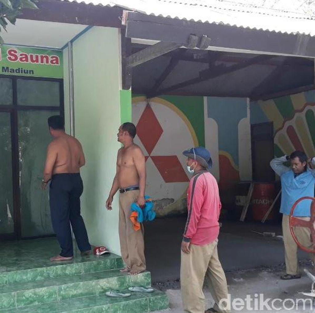 Di Madiun, Ada Sauna Pakai Uap Sampah