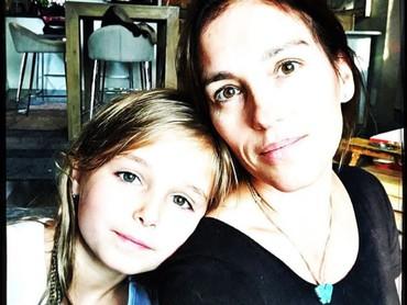 Francesca Christine adalah nama anaknya. (Foto: Instagram @atothedoublej)