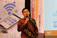 CEO Net1 Indonesia Larry Indonesia