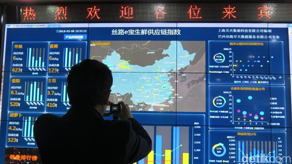 Mimpi Jalur Sutra Jadi Cloud Economy di China