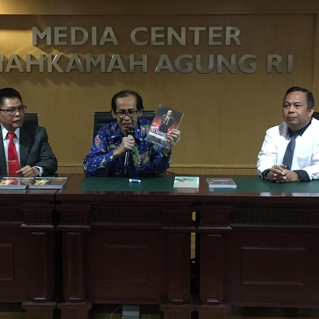 Artidjo Soal PK Anas Urbaningrum: Tidak Boleh Kami Komentari