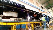 Balai Yasa Gubeng Percepat Perbaikan Kereta Angkutan Lebaran