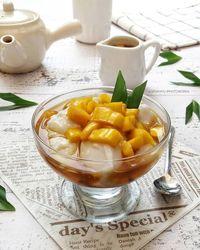 Resep bubur sumsum nangka.