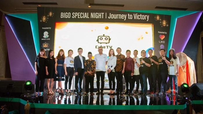 Foto: Bigo Luncurkan Cube TV