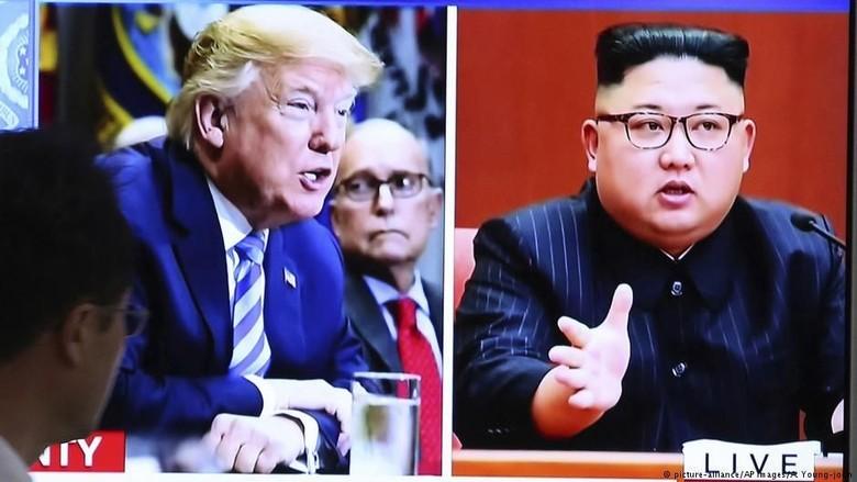 AS-Korut Bertemu di Perbatasan Korea, Bahas Pertemuan 12 Juni