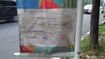 Foto: Before-After Coretan Banner Asian Games yang Dibersihkan