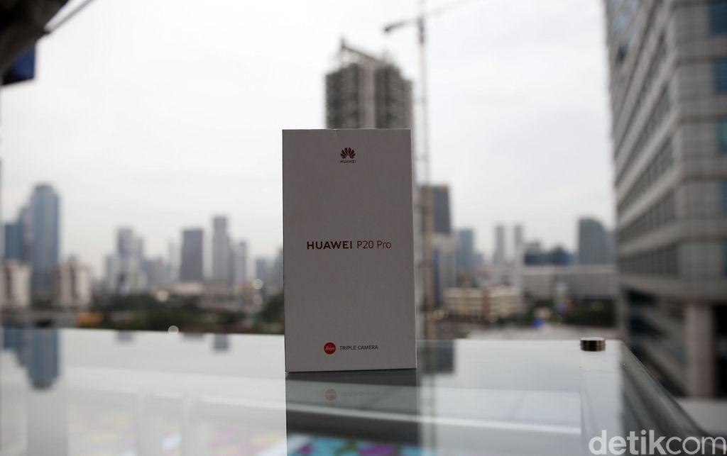 Huaweibaru sajamemperkenalkanseri P20 ke Indonesia, Kamis (28/6/2018). Foto: Amanda Rachmadita