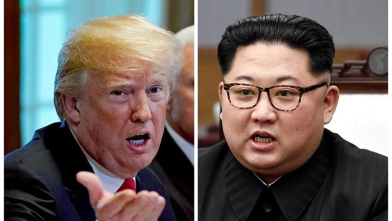 Media Korut: Kim-Trump Akan Bahas Perdamaian dan Denuklirisasi