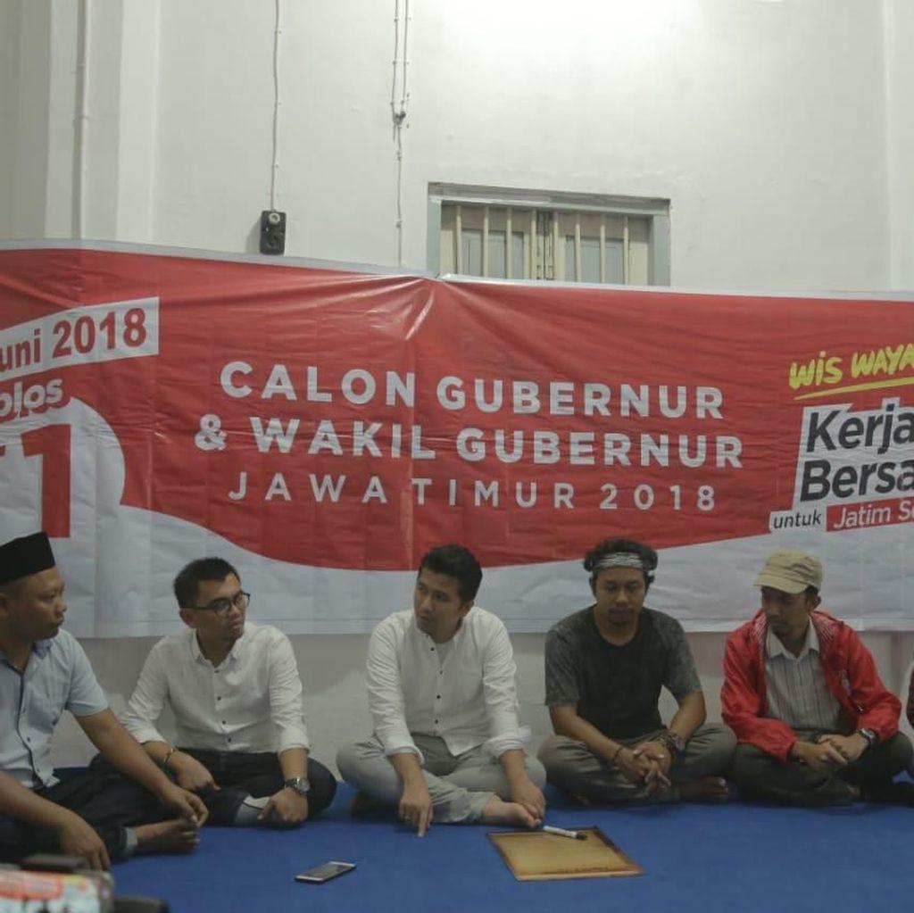 Komunitas dan Milenial Blitar Klaim Dukung Khofifah-Emil