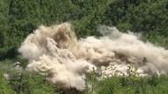 Video Korut Hancurkan Situs Uji Coba Nuklir di Punggye-ri