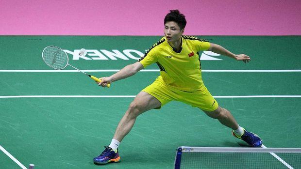 Shi Yuqi mengalahkan Jonatan Christie