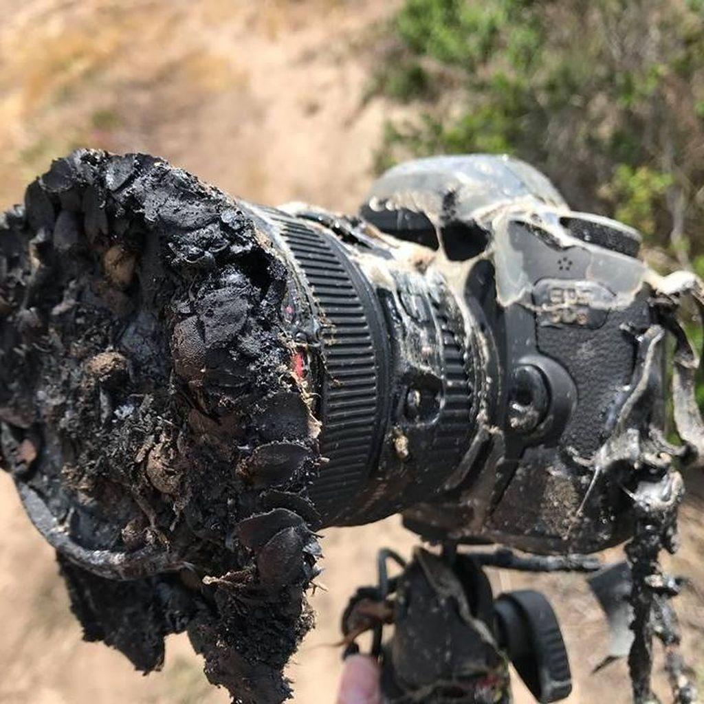Peluncuran Roket SpaceX Bikin Kamera Fotografer Ini Meleleh