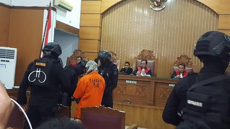 Teroris Abdurrahman Tiba di PN Jaksel, Sidang Pleidoi Dimulai