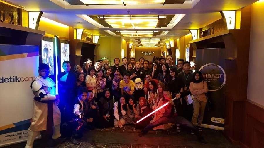 Seru! Nobar Solo: A Star Wars Story Bareng detikHOT!