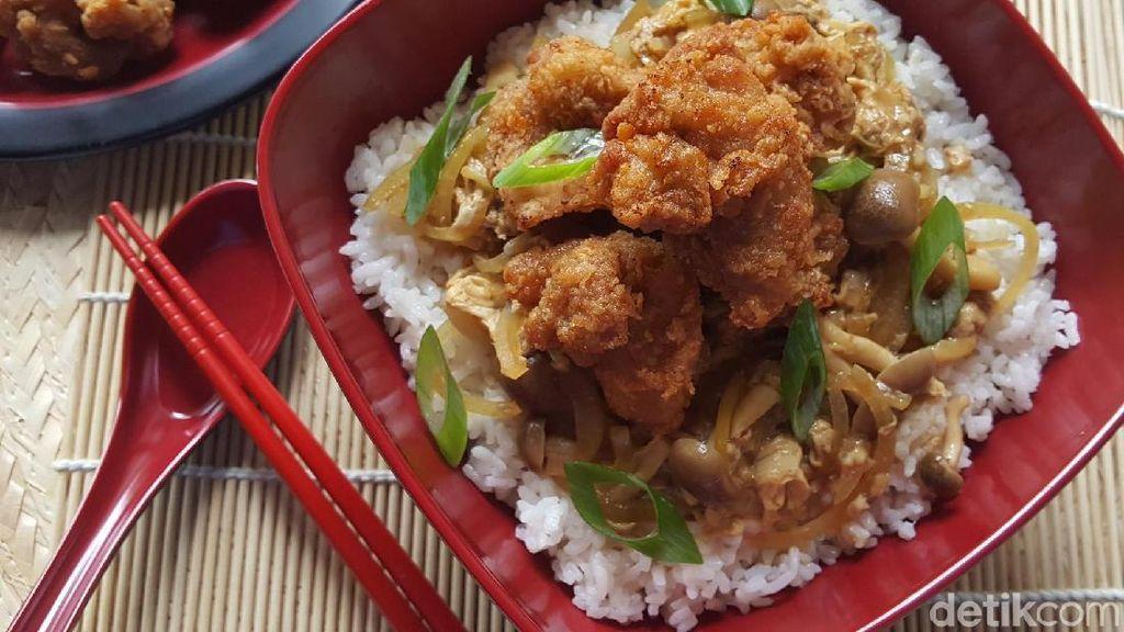 Resep Sahur : Donburi Chicken Karage