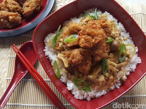 Resep Sahur : Donburi Chicken Karage