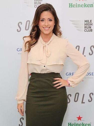 Chloe Melas, reporter CNN yang mengaku pernah dilecehkan oleh Morgan Freeman saat hamil enam bulan.