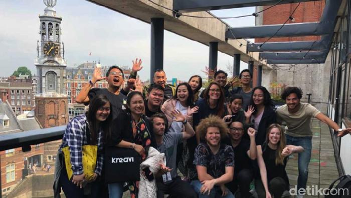 Foto: Kibar dan Digitaraya Berkunjung ke Markas TQ di Amsterdam