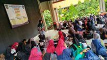 Mahasiswa Ciamis Terjun ke SMP Gelorakan Pesantren Ramadan