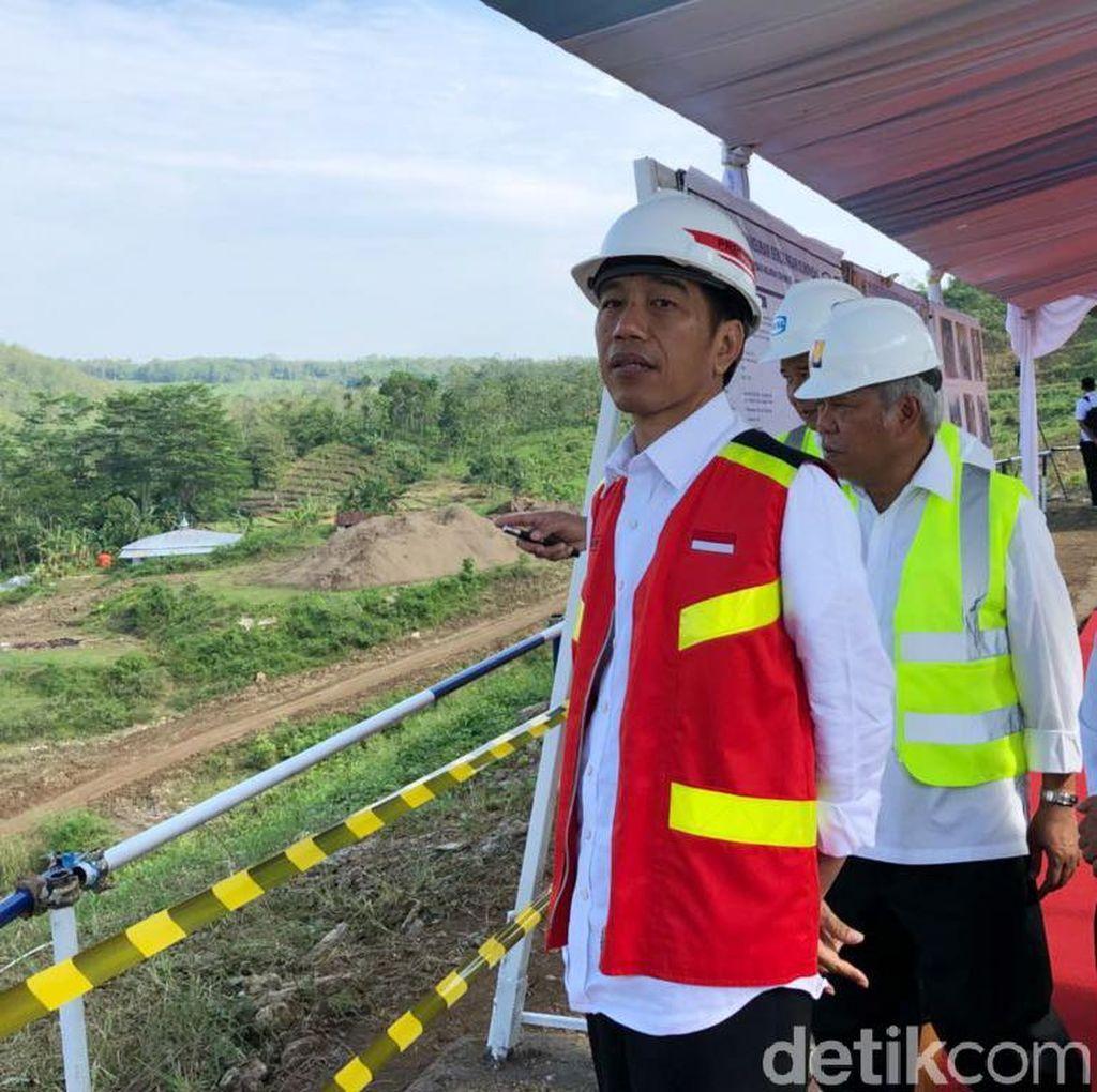 Jokowi Kembali ke Jakarta Usai Kunjungan di Kuningan