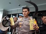 Pembacok Aric Lapor Polisi Usai Kejadian, Celurit Diserahkan