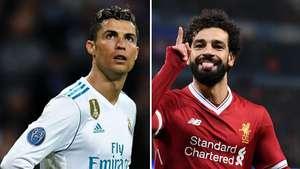 Lagi, tentang Cristiano Ronaldo vs Mohamed Salah
