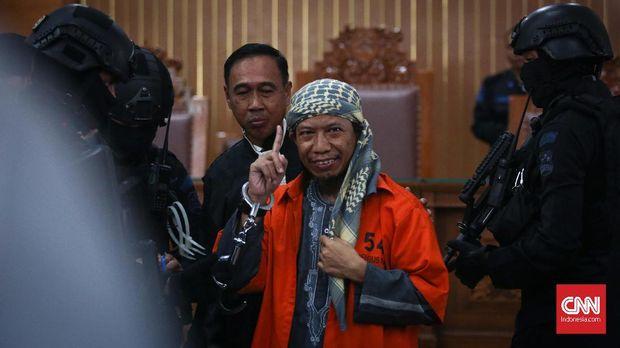 Aman Abdurrahman Rela Dihukum Mati Soal Kafirkan Pemerintah