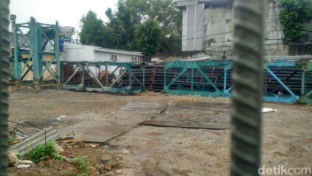 Lokasi drum meledak di dekat PN Jaksel