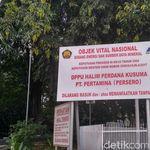 Ketatnya Keamanan Depot Avtur di Halim Perdanakusuma
