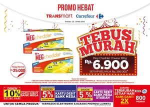Buat Kue Lebaran dengan Tebus Murah Keju di Transmart Carrefour