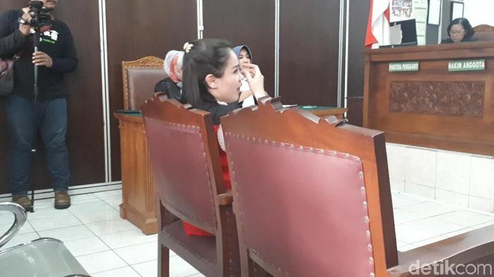 Jennifer Dunn saat sidang (Foto: Desi Puspasari/detikHOT)