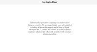Aturan Privasi Baru Berlaku, Situs Media AS Down di Eropa