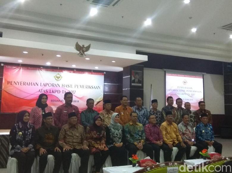 20 Kabupaten/Kota di Jatim Raih Opini WTP dari BPK