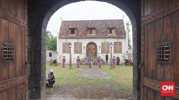 Lokasi syuting di Desa Gamplong, Yogyakarta.
