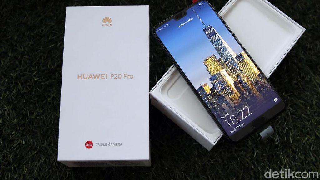 Unboxing Ponsel Jagoan Huawei P20 Pro