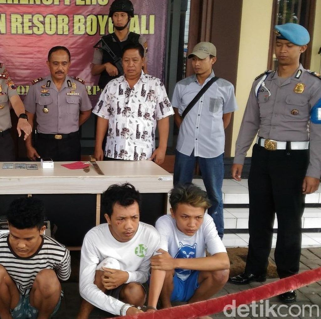 Merampok, 6 Pemuda Asal Yogya Dibekuk Polres Boyolali